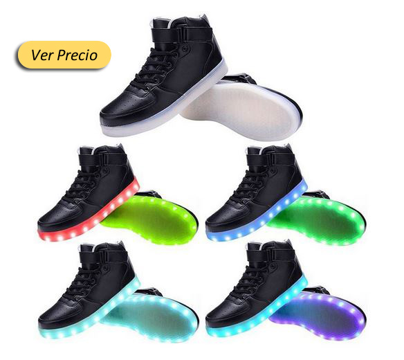 Los mejores zapatos con luces led en amazon for Zapateros baratos amazon