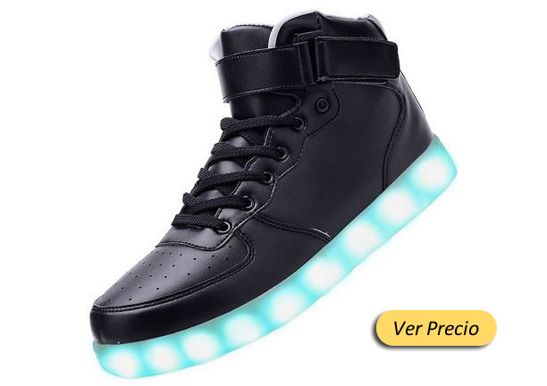 zapatos con luces led en amazon
